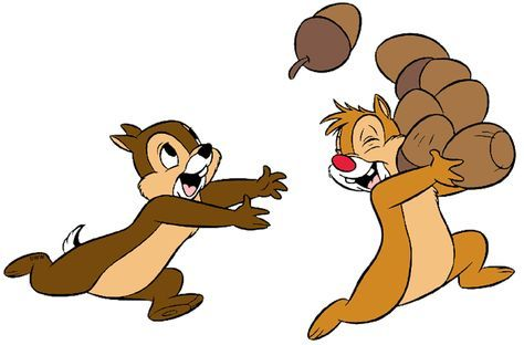 Disney chip and dale. Chips clipart animated