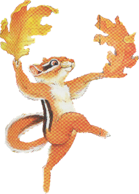 Chipmunk clipart dancing. Chesterchipmunk dancingwithleaves highquality sm