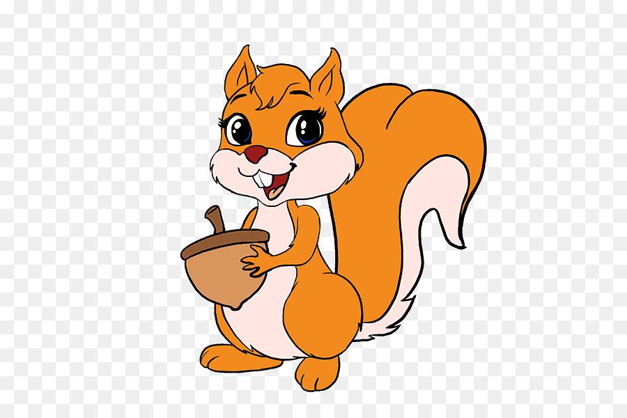 Clipart squirrel color. Chipmunk cartoon pencil cat
