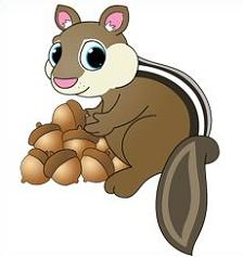 Chipmunk clipart kawaii. My girly space group