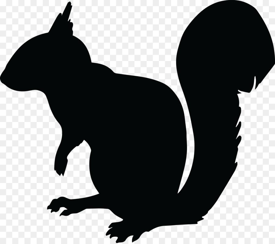 Silhouette clip art animal. Chipmunk clipart squirrel tail