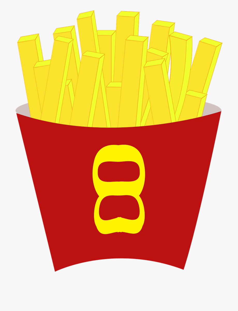 French fries food free. Chips clipart