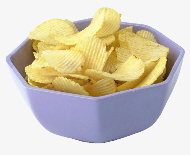 Chips clipart bowl chip. Snacks potato png image