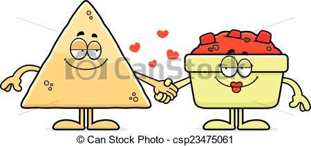 Chips clipart cartoon. Pretentious design salsa and