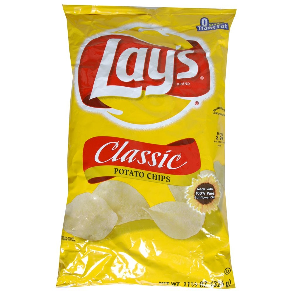 Diverting classic potato singles. Chips clipart chip lays