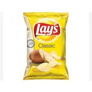 Chips clipart chip lays. Original potato classic