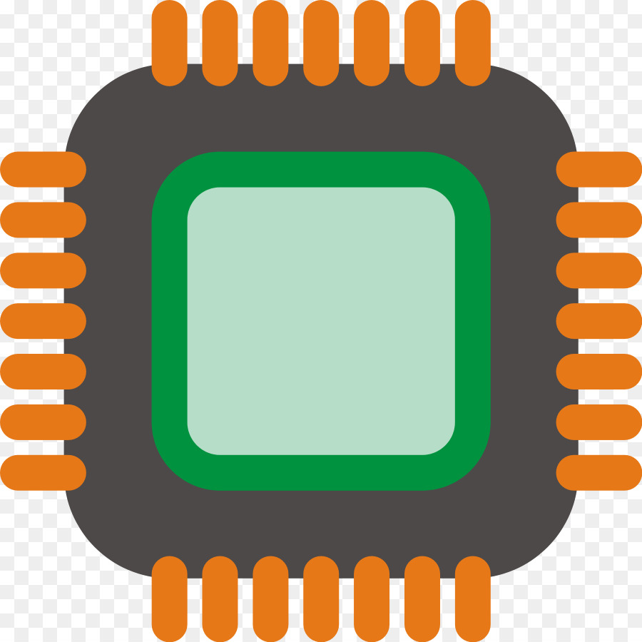 Chips clipart chip line. Central processing unit integrated