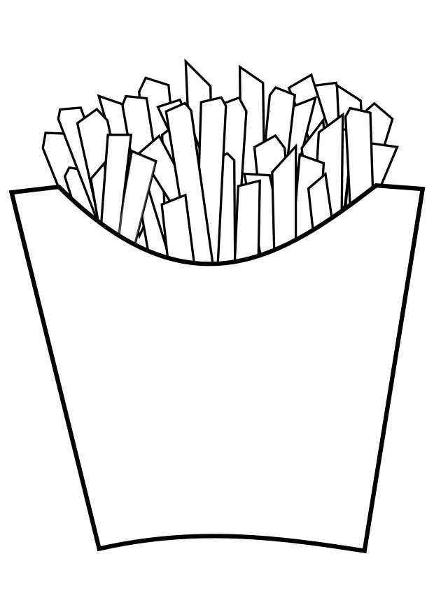 Coloring page img download. Chips clipart chip line