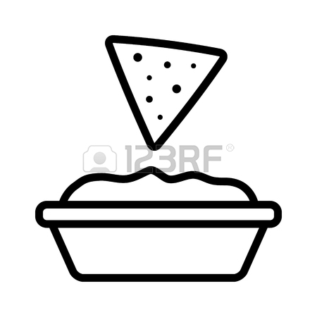 Tortilla free download best. Chips clipart chip line