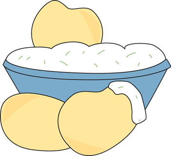 Chips and dip clip. Chip clipart snack