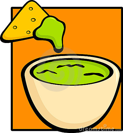 Chips panda free images. Appetizers clipart chip guacamole