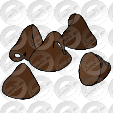 Picture for classroom therapy. Chips clipart chocolate