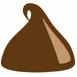 Chips clipart chocolate. Silhouette design store view