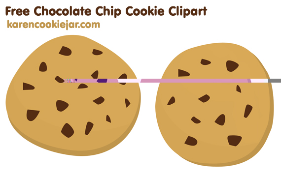 Free chip cookie . Chips clipart chocolate