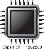 Chips clipart computer. Processing