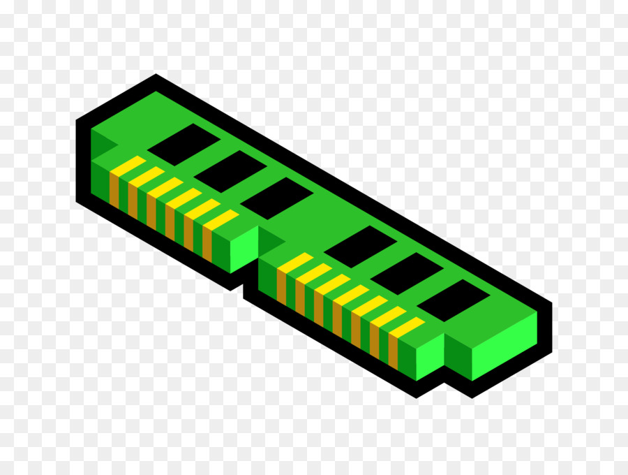 Chips clipart computer. Ram memory integrated circuits
