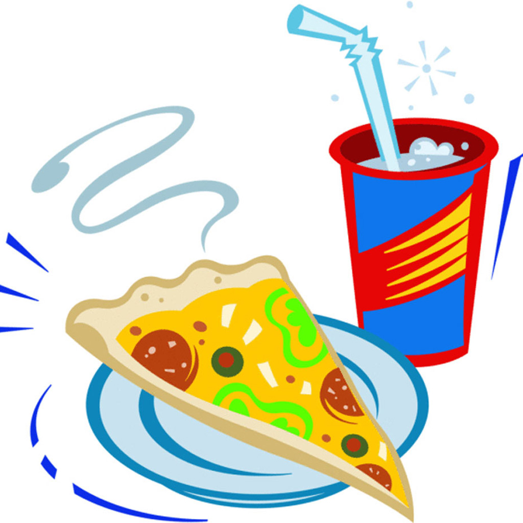 Chips clipart fizzy drink.  collection of pizza