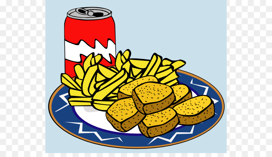 Drinks french fries chicken. Chips clipart fizzy drink
