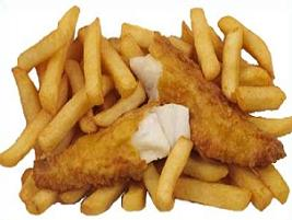 Chip clipart fried chip. Free fish and fries
