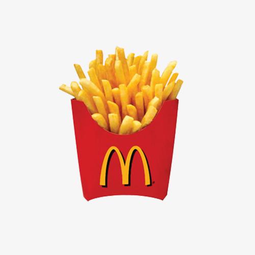 Chips clipart fry mcdonalds. Mcdonald s fries food