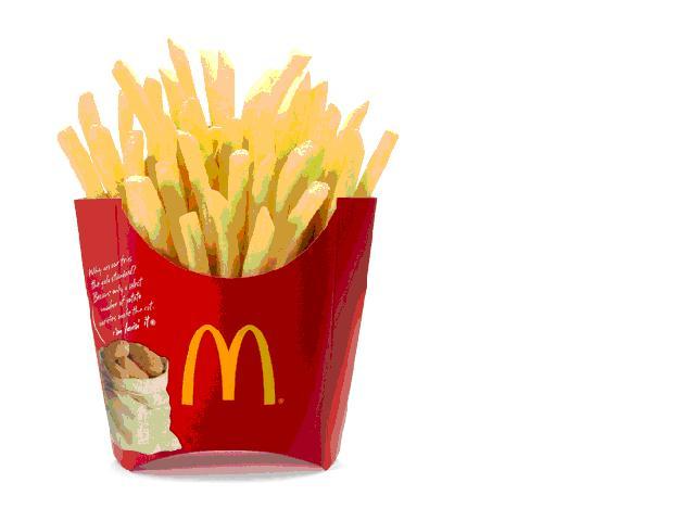 Free mcdonald s cliparts. Chips clipart fry mcdonalds