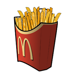 Chips clipart fry mcdonalds.  collection of mcdonald