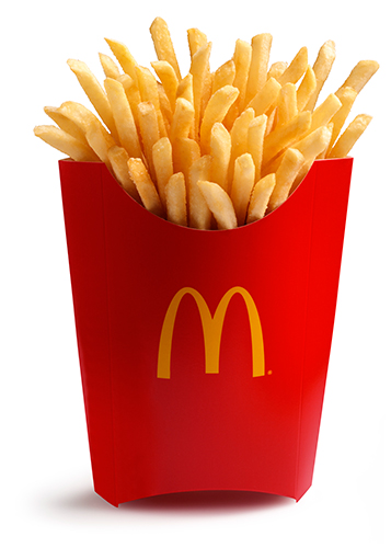 Fries make you happy. Chips clipart fry mcdonalds