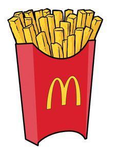 Fries box bag mcdonald. Chips clipart fry mcdonalds