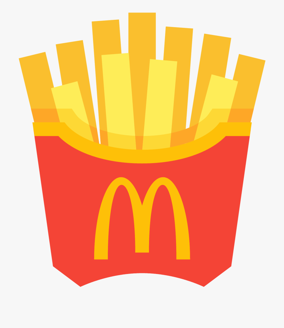 Fries . Chips clipart fry mcdonalds