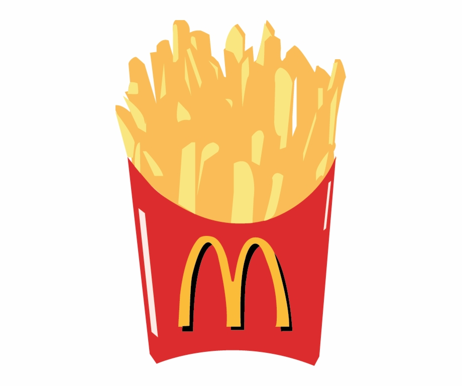 Chips clipart fry mcdonalds. Fries mcdonald s french