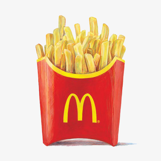 Chips clipart fry mcdonalds. Mcdonald s fries french