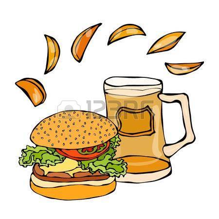 Chips clipart hamburger. Inspirational bag of big