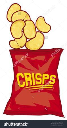 Crisps recherche google jury. Chips clipart hot chip