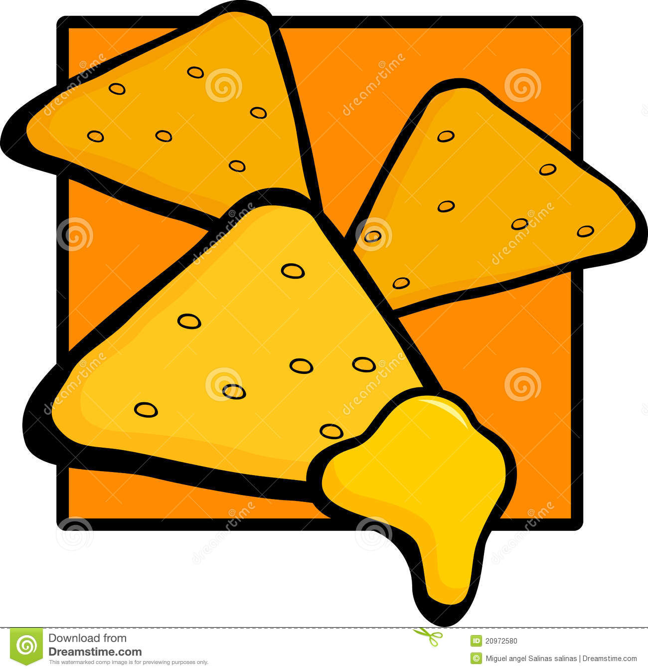 Cartoon nachos free download. Chips clipart nacho chip