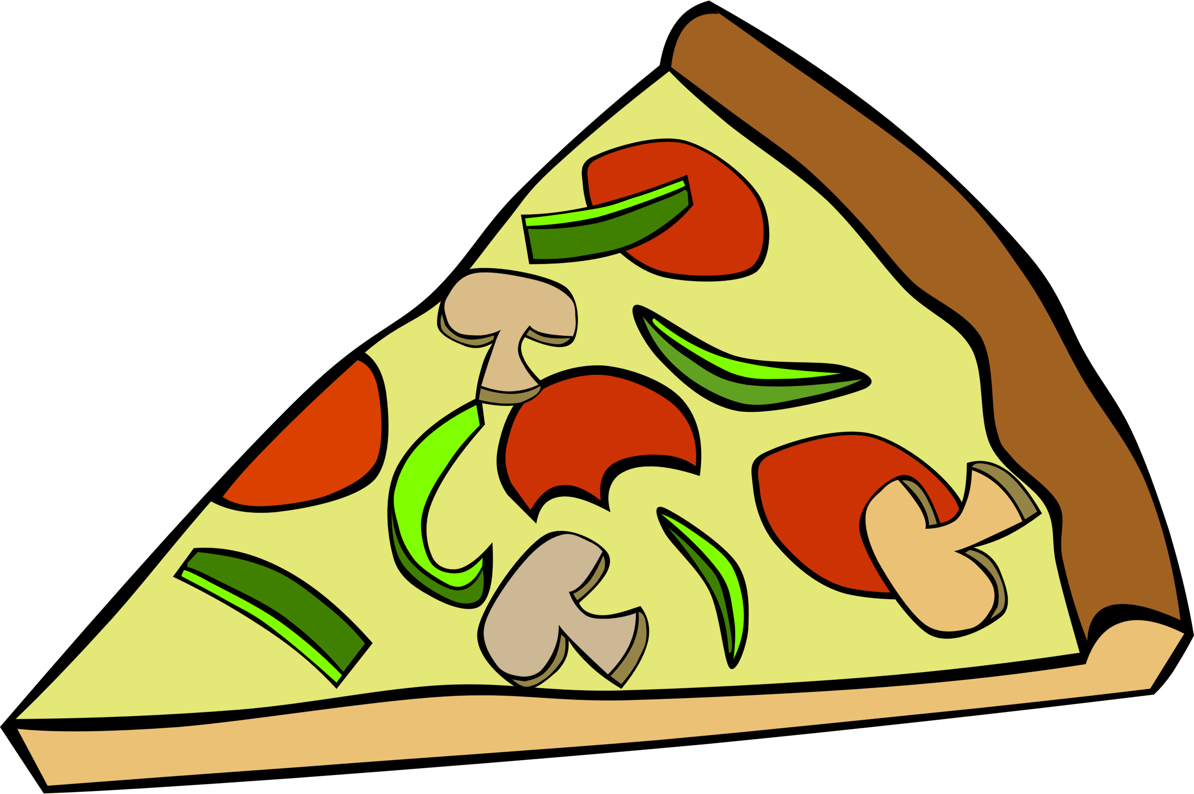Pizza clipart big pizza. Fast food snack pepperoni