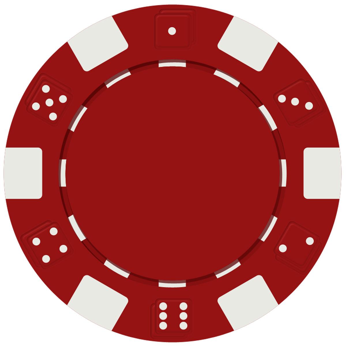 Casino clipart poker run. Pcd dice style chip