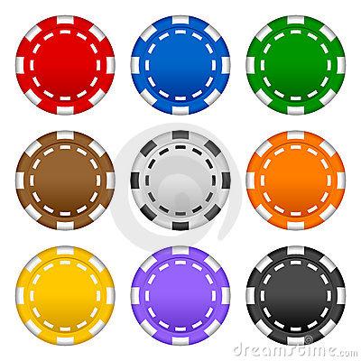 chips clipart poker