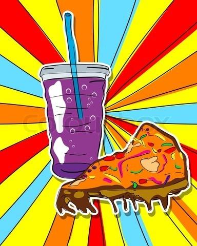 best gcse theme. Chips clipart pop art