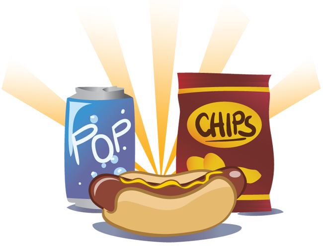 From north jones to. Chips clipart pop art