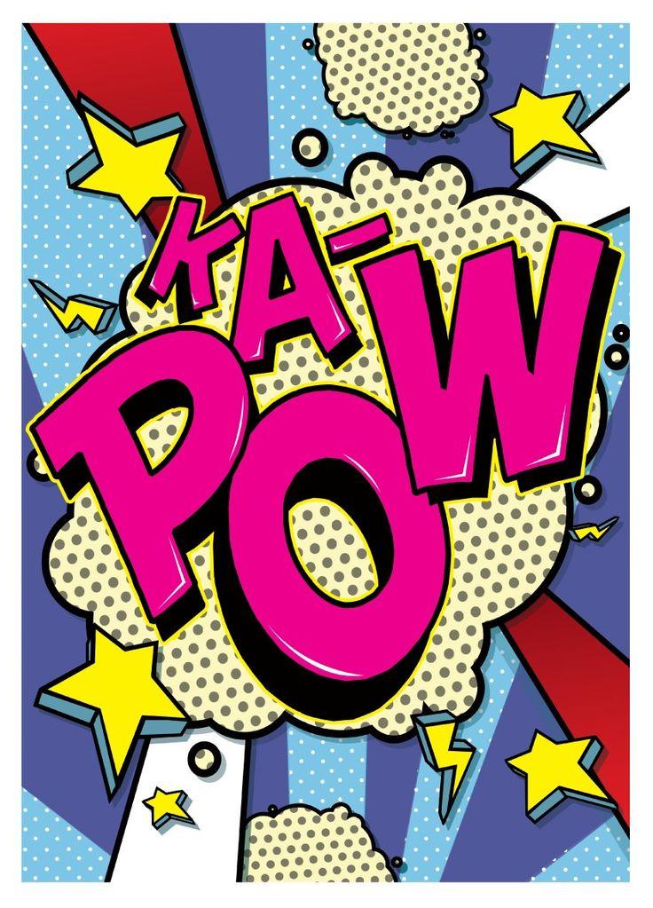 Chips clipart pop art.  best lettering images