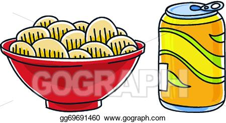 Vector and drawing gg. Chips clipart pop art