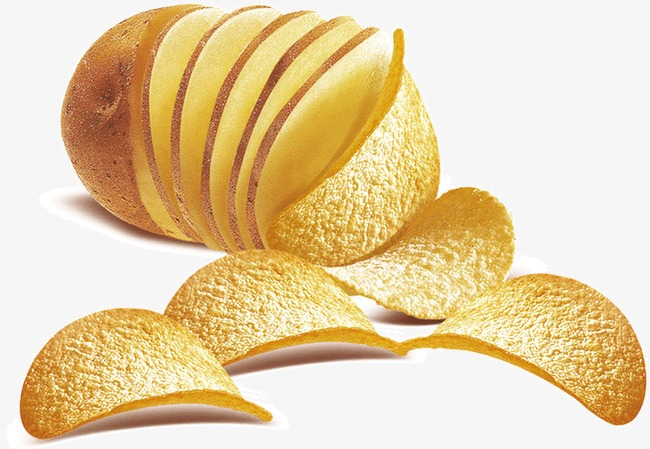 Chips clipart potato chip. Slice png image and