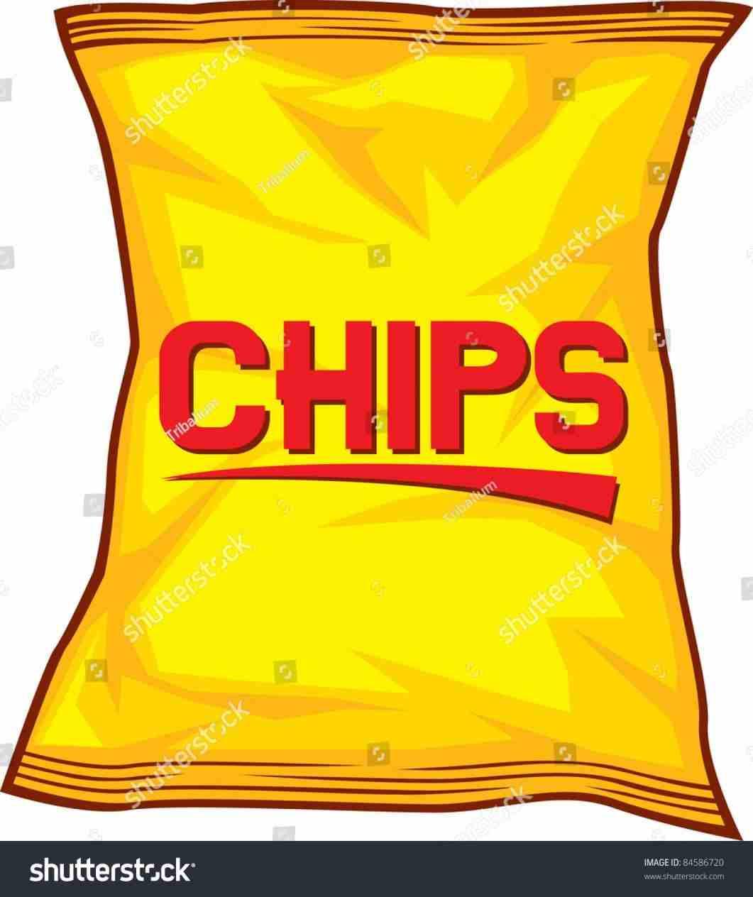 Potato bag clip art. Chips clipart potatoe chip