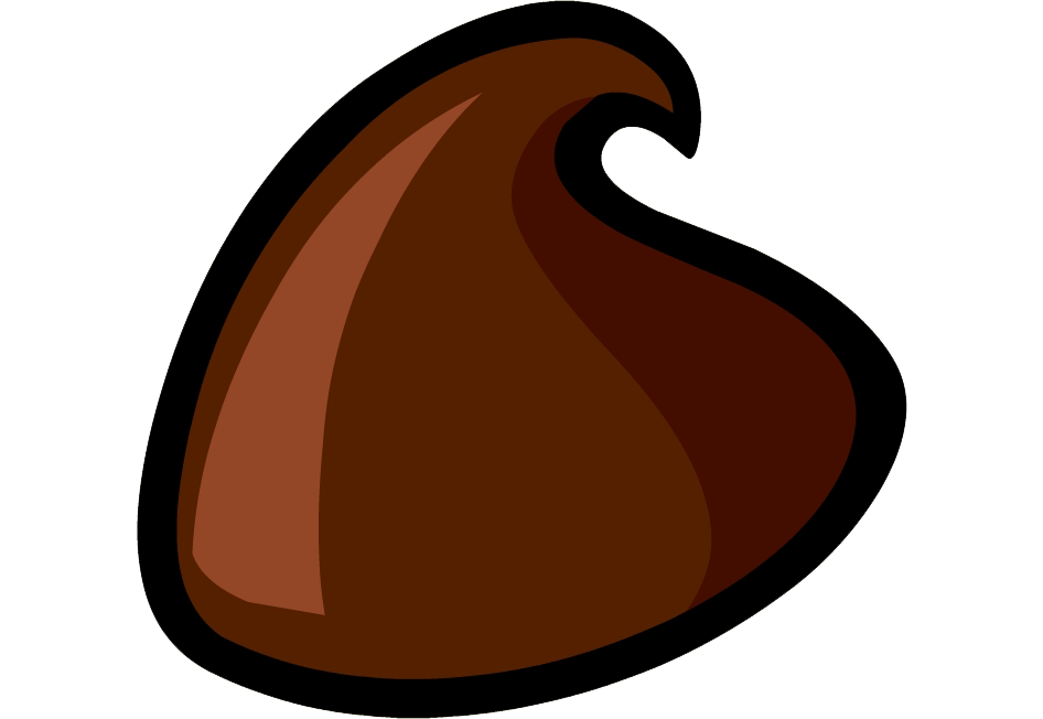 Chocolate collection food. Juice clipart chip