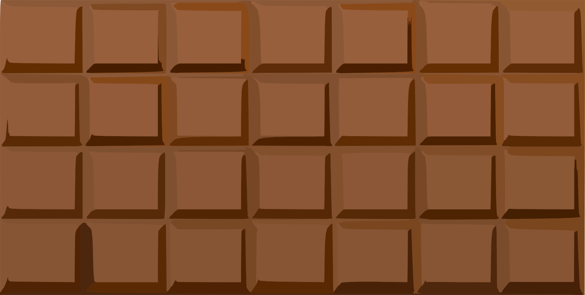 Bar of the free. Chocolate clipart