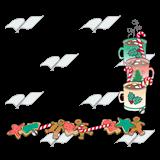 Chocolate clipart border. Abeka clip art christmas