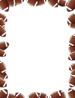 Chocolate clipart border. Free sports borders clip