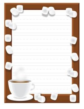best borders frames. Chocolate clipart border