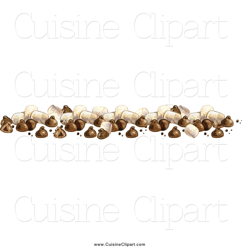 Chocolate clipart border. Cuisine of a chips