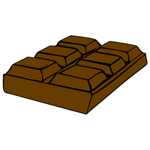 . Chocolate clipart brown chocolate